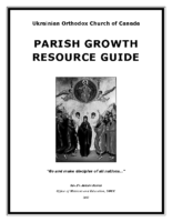 Ukrainian Orthodox Church of Canada Parish Growth Resource Guide [English]