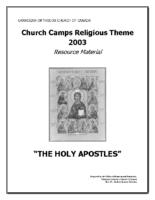 2010 – The Holy Apostles (PDF)