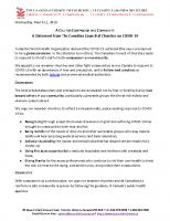 CCC – COVID19 Statement – March 11, 2020 – FINAL2