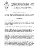#2 Hierarchical Epistle from His Eminence, Metropolitan Yurij, Regarding the Coronavirus Pandemic