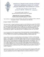 UOCC Covid19 Letter Govt Fin Programs April 2020