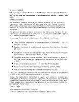Resolutions Committee Letter XXIV Sobor – Revised November 2020