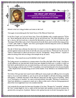 The Great Lent Epistle 2021 of the Permanent Conf
