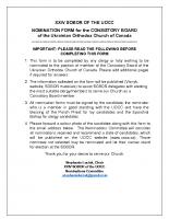 Consistory Board Nomination Form – Revised May 18, 2021